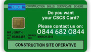 CSCS Test,  CSCS Card,  CSCS Training,  Health and Safety Test
